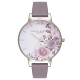 OLIVIA BURTON-Enchanted Garden London Grey & Silver-Watch-OB16WG38-THE UNIT STORE
