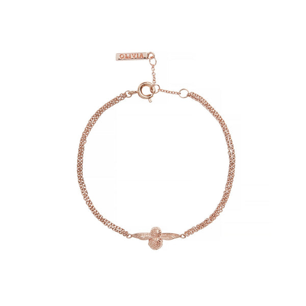 3D Bee Chain Bracelet Rose Gold__OLIVIA BURTON_Jewellery_THE UNIT STORE