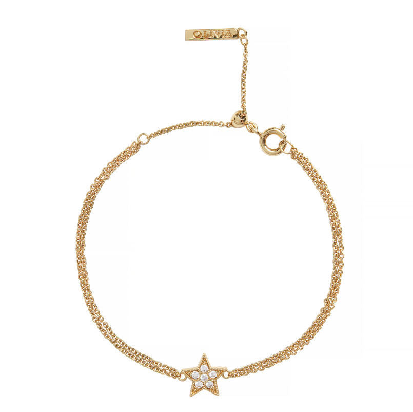 OLIVIA BURTON-Celestial Chain Bracelet Gold-Jewellery-OBJ16CLB01-THE UNIT STORE