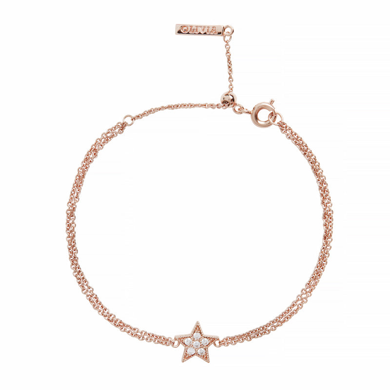 OLIVIA BURTON-Celestial Chain Bracelet Rose Gold-Jewellery-OBJ16CLB02-THE UNIT STORE