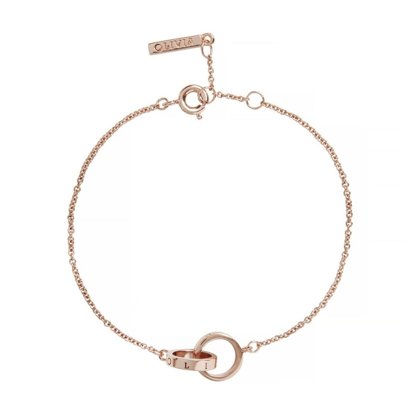 OLIVIA BURTON-Classic Chain Bracelet Rose Gold-Jewellery-OBJ16ENB13B-THE UNIT STORE
