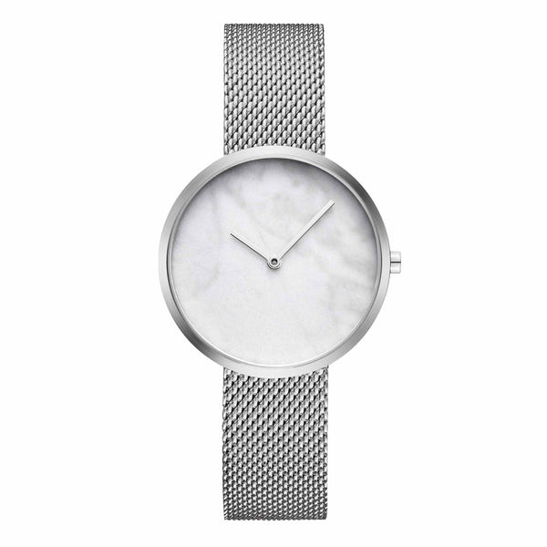 Maven-Outline Silver White/Silver/Silver Mesh/34mm-Watch-WU MV1002LPIWM-THE UNIT STORE