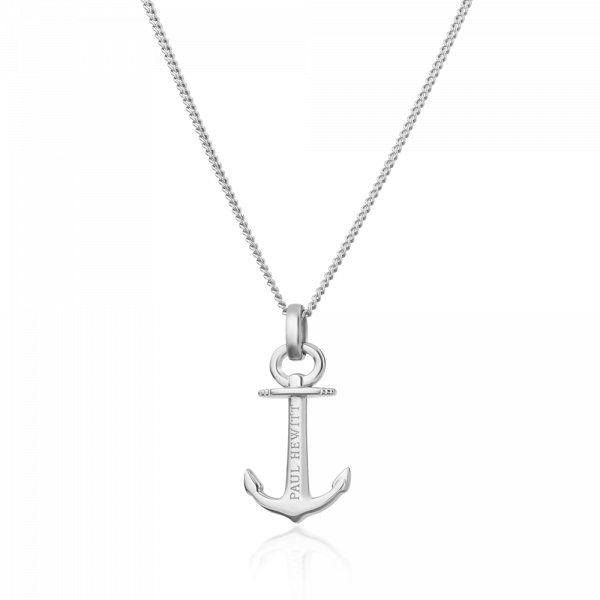 Paul Hewitt-Necklace Anchor Spirit Silver-Jewellery-PH-AN-S-THE UNIT STORE