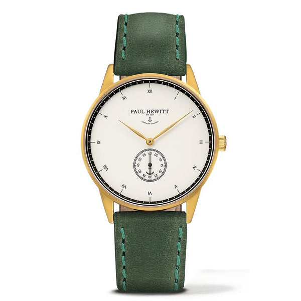 Paul Hewitt-Signature Line White Ocean Green 38mm-Watch-PH-M1-G-W-12S-THE UNIT STORE