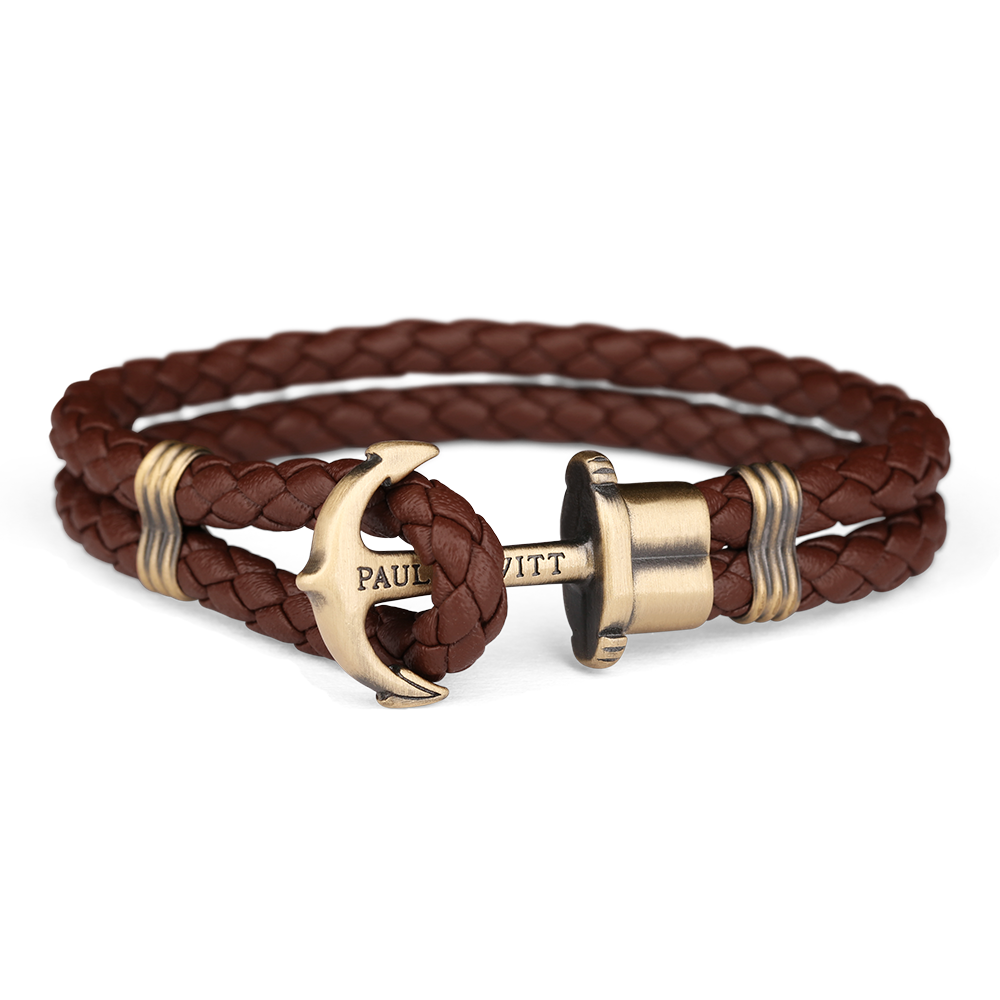 Paul Hewitt-Anchor PHREP Brass Brown-Jewellery-PH-PH-L-M-Br-S-THE UNIT STORE