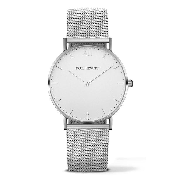 Paul Hewitt-Sailor Line White Sand Stainless Steel 39mm-Watch-PH-SA-S-ST-W-4S-THE UNIT STORE