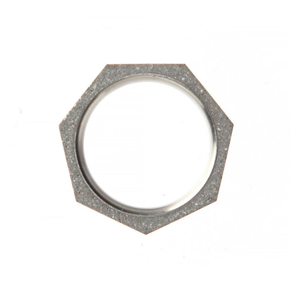 22 Design Studio-Seven Concrete Ring Thin Original Grey Concrete-Jewellery-CR14100-THE UNIT STORE