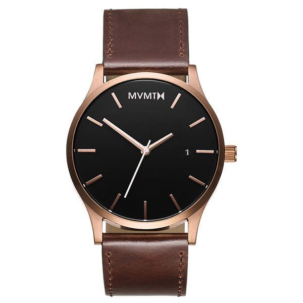 MVMT-Mens Classic Rose Gold Brown 45 mm-Watch-D-MM01-RGBL-THE UNIT STORE