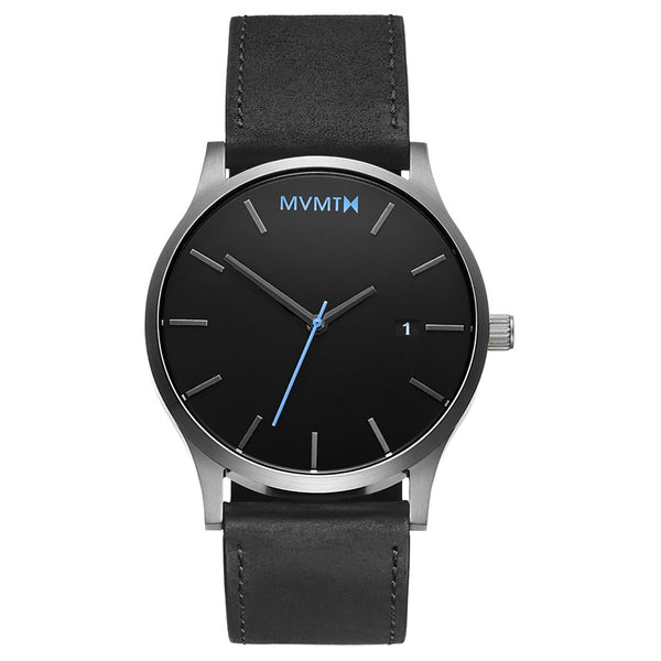 MVMT-Mens Classic Black Silver 45 mm-Watch-D-MM01-BSL-THE UNIT STORE