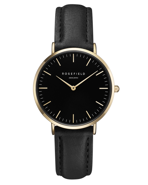 Rosefield-The Tribeca Black Black Gold-Watch-RF-TBBG-T56-THE UNIT STORE