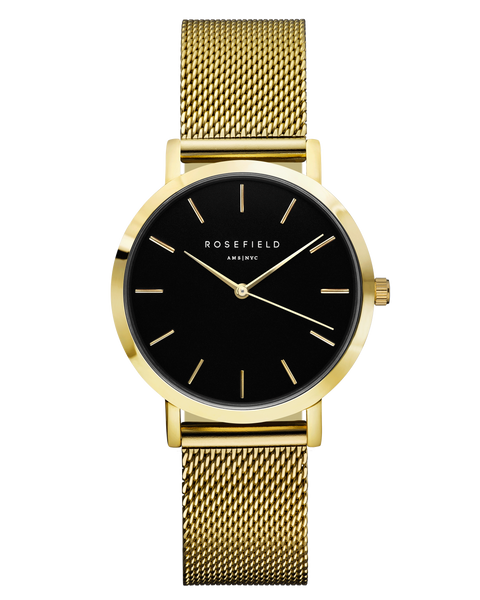 Rosefield-The Tribeca Black Gold-Watch-RF-TBG-T60-THE UNIT STORE