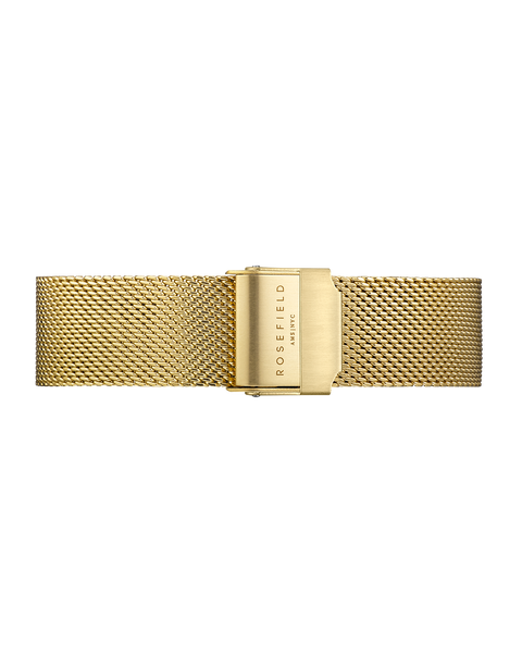 Rosefield-Tribeca Mesh Gold Strap-Watch Strap-RF-TMGS-S126-THE UNIT STORE