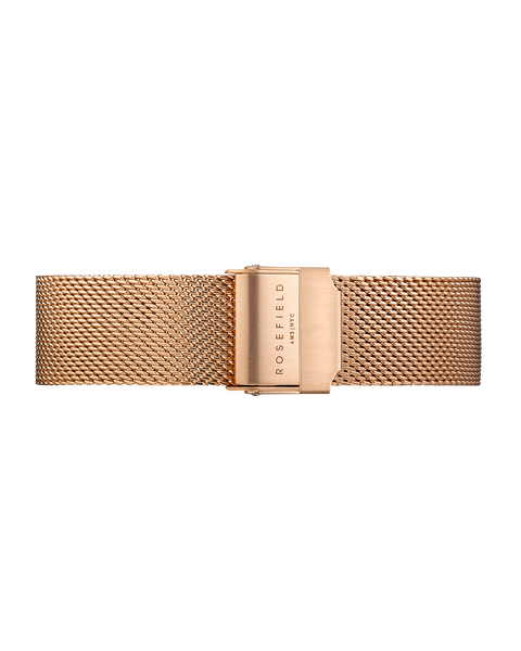 Tribeca Mesh Rose Gold Strap