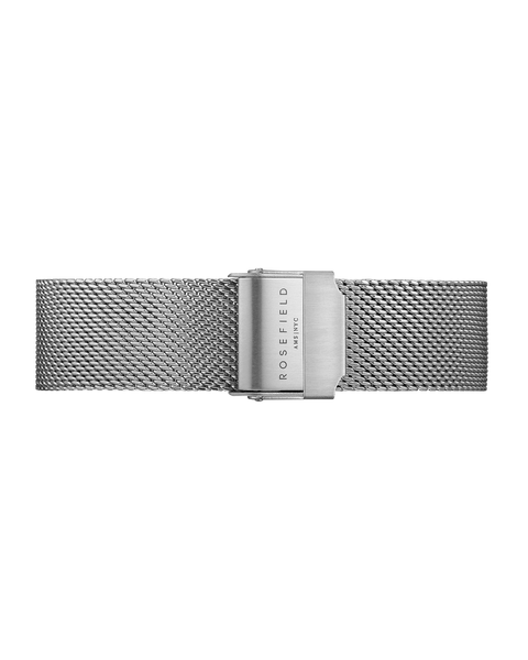 Rosefield-Tribeca Mesh Silver Strap-Watch Strap-RF-TMSS-S127-THE UNIT STORE