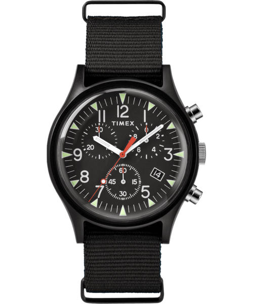 MK1 Aluminium Chrono / Black / Black / Black / 40mm