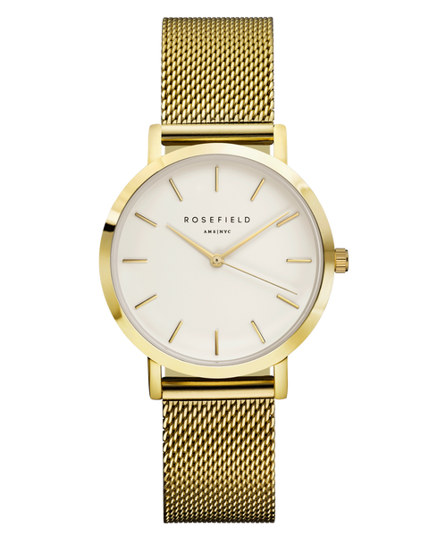 The Tribeca White Gold__Rosefield_Watch_THE UNIT STORE