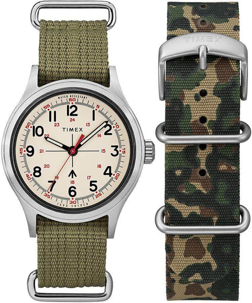 TS Military Cream/Olive W/Extra Strap