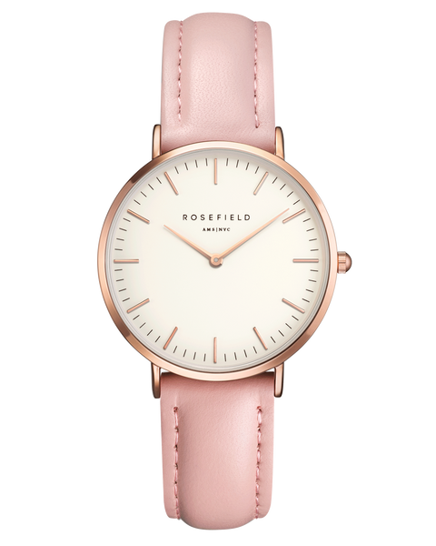 The Tribeca White Pink Rose Gold__Rosefield_Watch_THE UNIT STORE