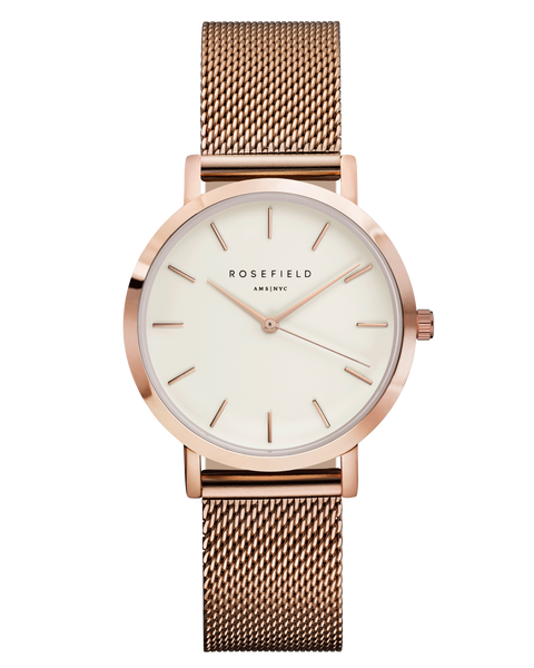 Rosefield The Tribeca White Rose Gold RF-TWR-T50