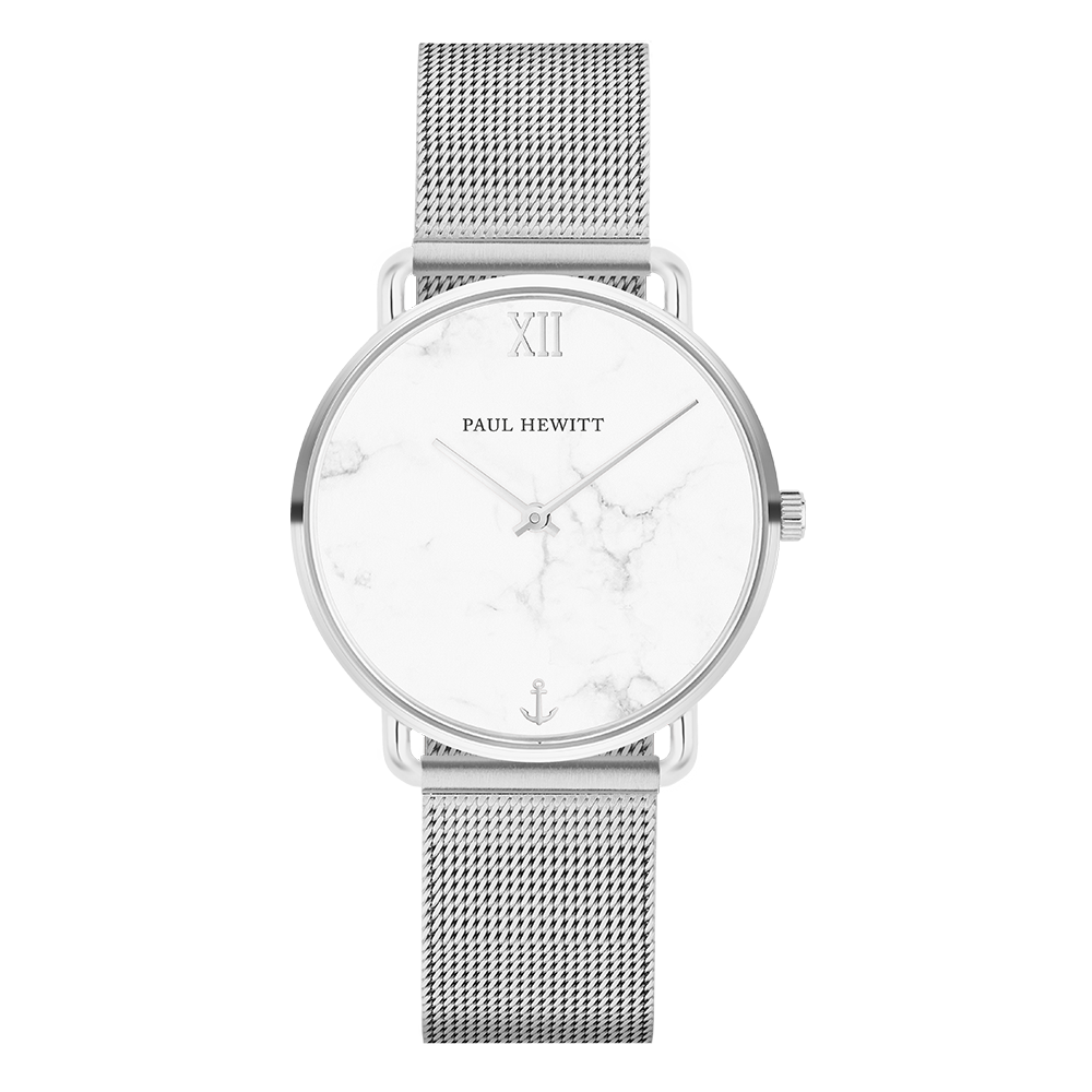 Paul Hewitt-Miss Ocean Line Marble Stainless Steel Mesh-Watch-PH-M-S-M-4S-THE UNIT STORE