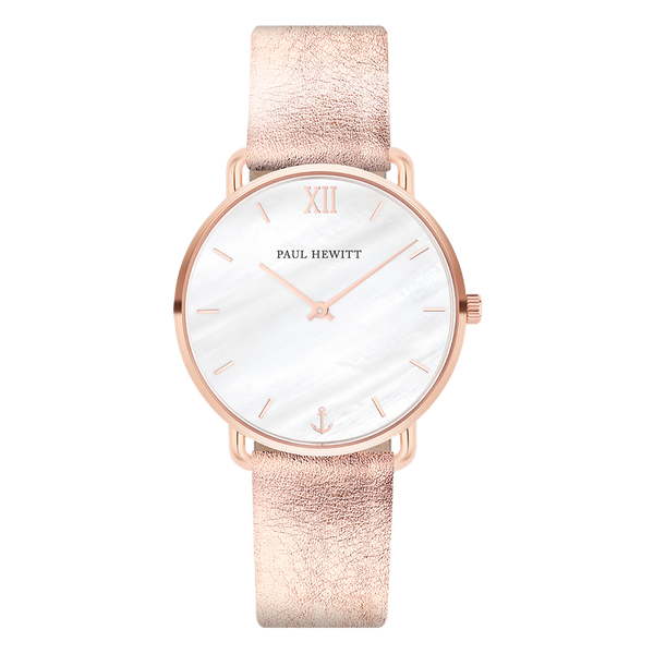 Paul Hewitt-Miss Ocean Line Pearl IP Rose Gold Liquid Rose-Watch-PH-M-R-P-29S-THE UNIT STORE
