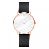 Paul Hewitt-Miss Ocean Pearl Rose Gold Leather Black-Watch-PH-M-R-P-32S-THE UNIT STORE