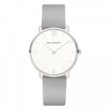 Paul Hewitt-Miss Ocean White Sand Steel Leather Graphite-Watch-PH-M-S-W-31S-THE UNIT STORE