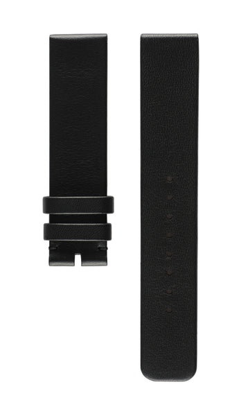 Strap Matt Black Matt French Calfskin