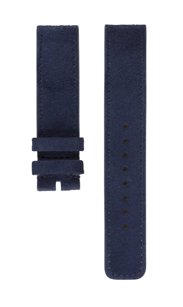 Strap BLUE French Lambskin Suede