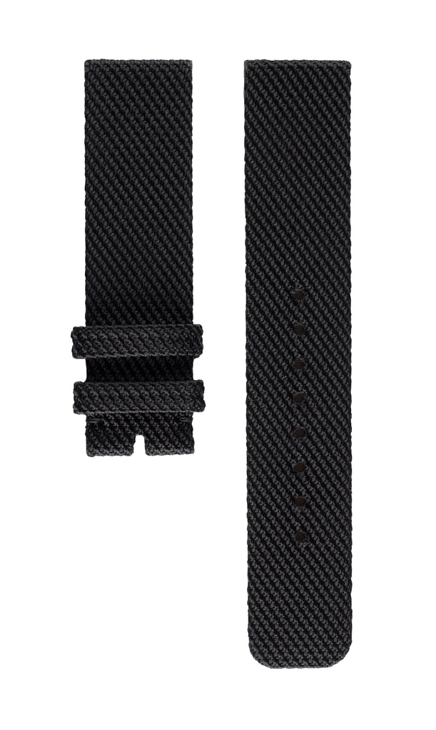 Strap BLACK Braided Fabric
