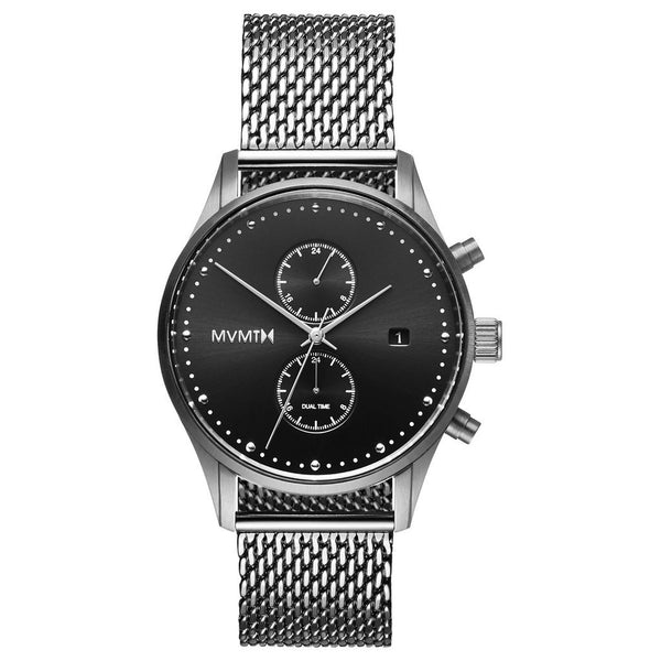 MVMT-Mens Voyager Sterling 42 mm-Watch-D-MV01-S2-THE UNIT STORE