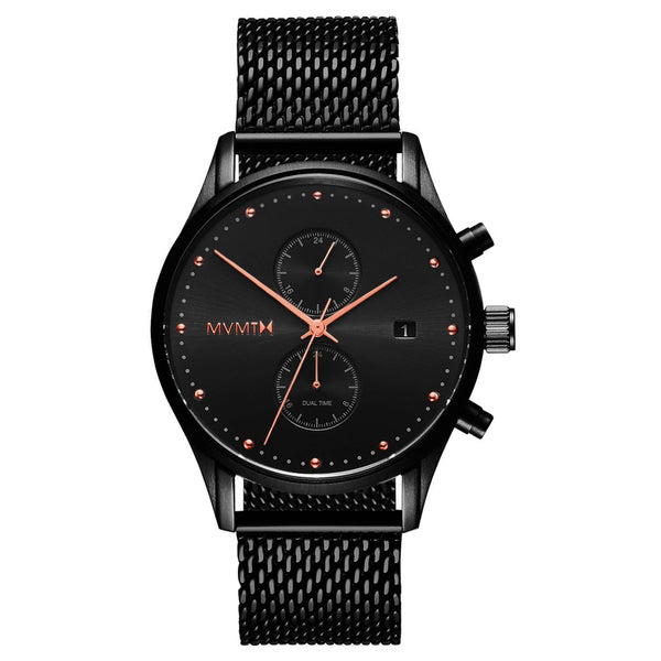 Mens Voyager Black Rose 42 mm__MVMT_Watch_THE UNIT STORE