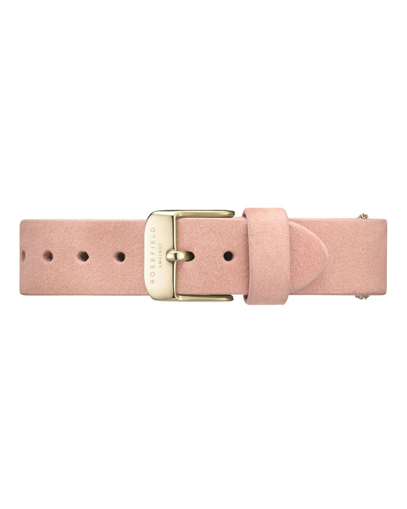 Rosefield-Wv Bubblegum Pink Gold Strap-Watch Strap-RF-WBPGS-S139-THE UNIT STORE