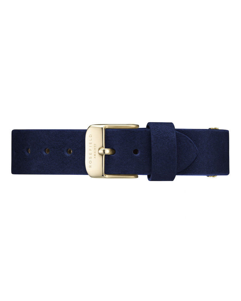 Rosefield-Wv Blue Gold Strap-Watch Strap-RF-WBUGS-S137-THE UNIT STORE