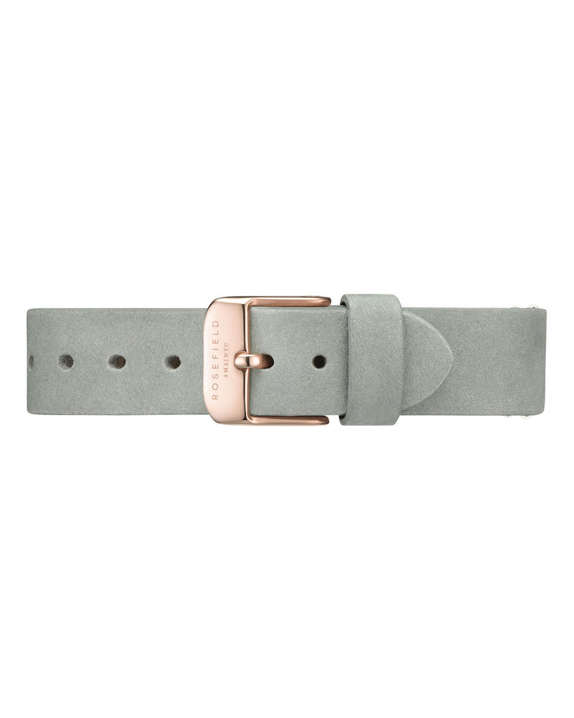 Rosefield-Wv Mint Grey Rose Gold-Watch Strap-RF-WMGRS-S141-THE UNIT STORE