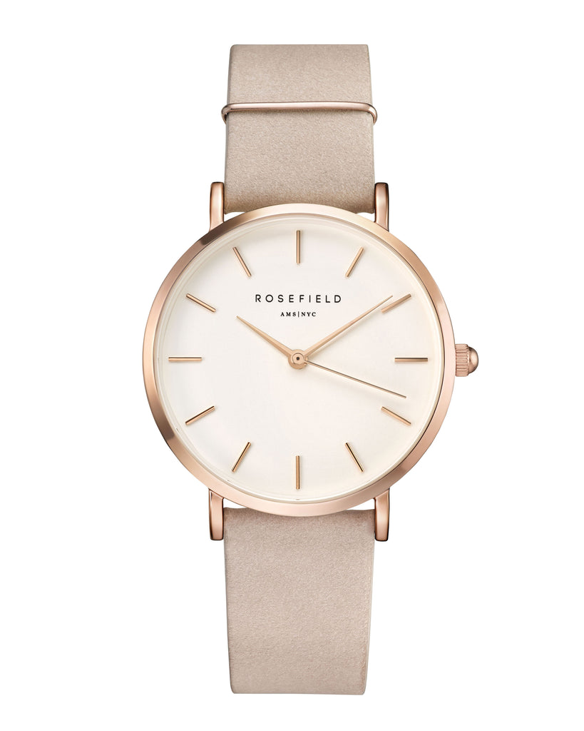 Rosefield-The West Village Soft Pink Rose Gold-Watch-RF-WSPR-W73-THE UNIT STORE