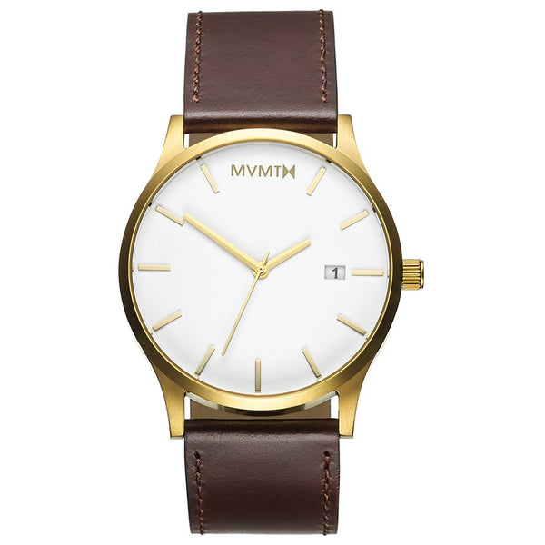 MVMT-Mens Classic White Gold 45 mm-Watch-D-MM01-WGL-THE UNIT STORE