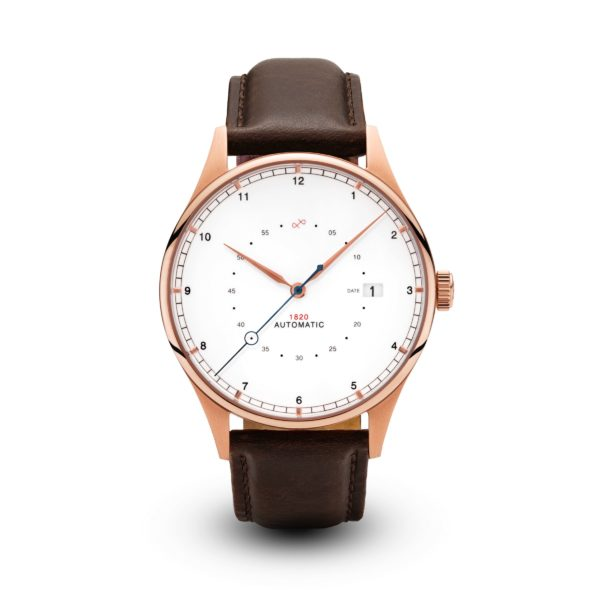 1820 Automatic, Rose Gold Brown