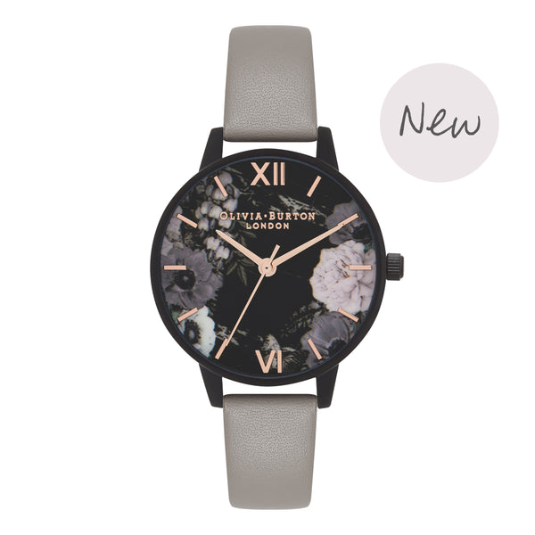 OLIVIA BURTON-After Dark Grey Ip Black & Rose Gold-Watch-OB16AD24-THE UNIT STORE