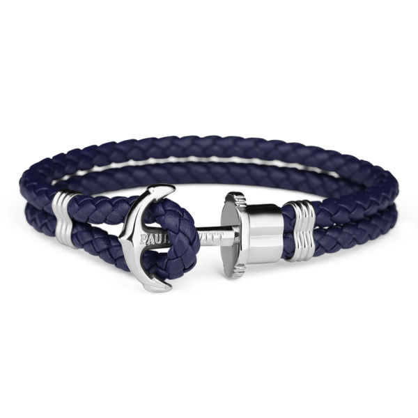 Paul Hewitt-Anchor PHREP Stainless Steel Navy-Jewellery-THE UNIT STORE
