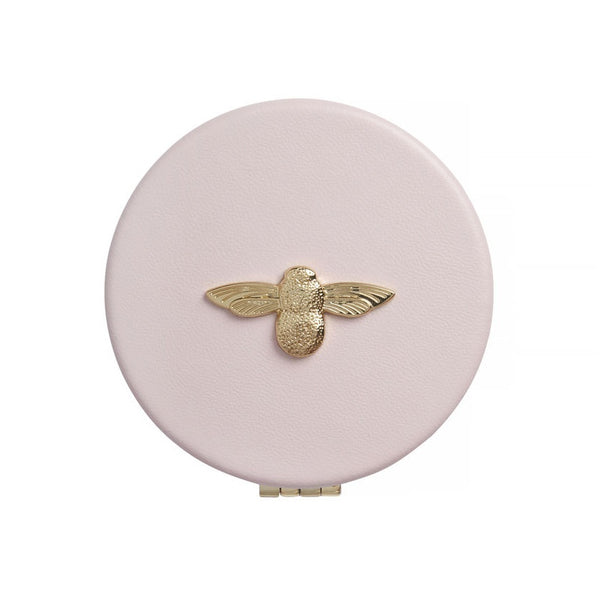3D Bee Compact Mirror Pink & Gold__OLIVIA BURTON_Jewellery_THE UNIT STORE