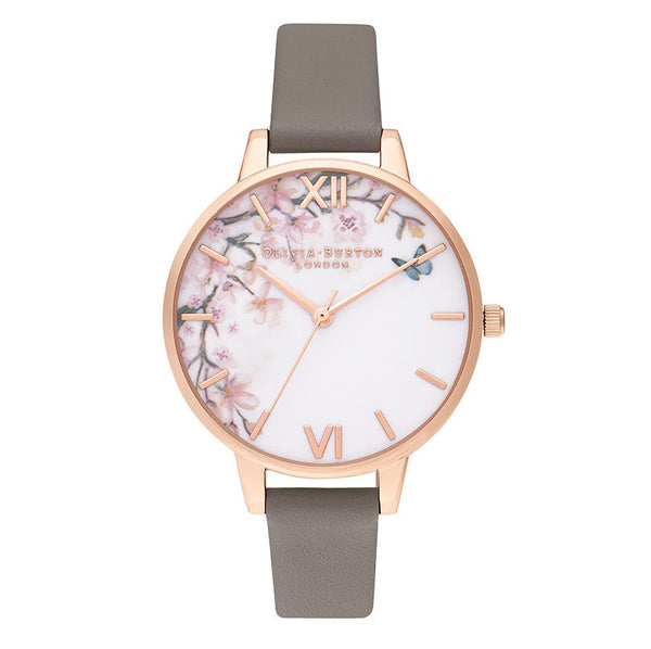 Pretty Blossom Demi London Grey & Rose Gold__OLIVIA BURTON_Watch_THE UNIT STORE
