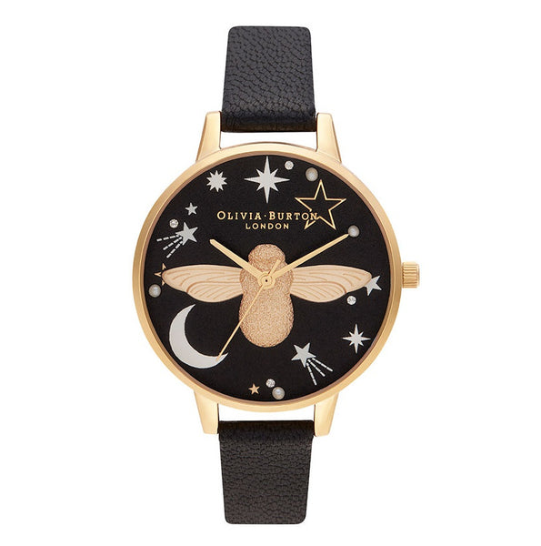 Ramadan 3D Bee, Black & Gold