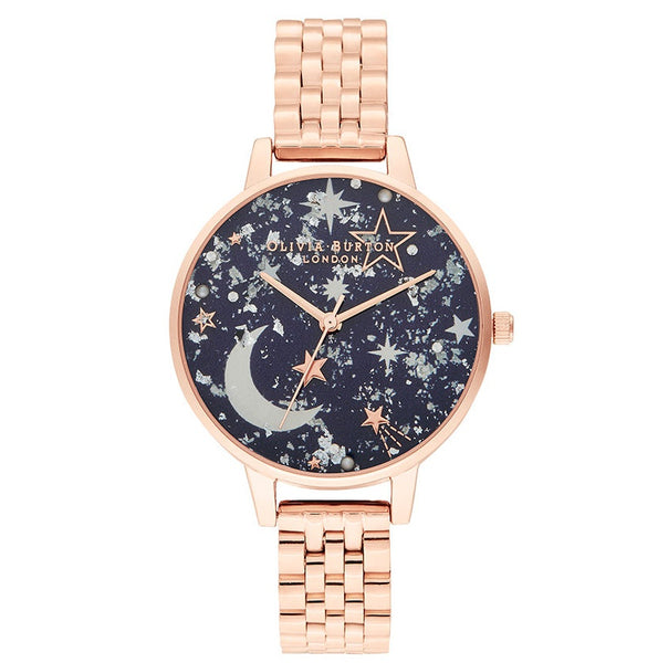 Ramadan Navy & Rose Gold Bracelet