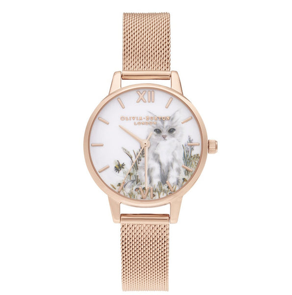 Illustrated Animals RG Mesh__OLIVIA BURTON_Watch_THE UNIT STORE