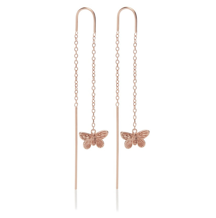 3D Butterfly Threader Earrings RG__OLIVIA BURTON_Jewellery_THE UNIT STORE