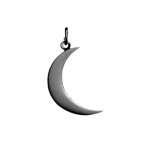 Pendant Big Moon Black