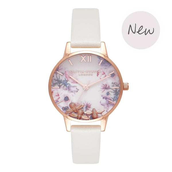 OLIVIA BURTON-Busy Bees Nude & Rose Gold-Watch-OB16CH13-THE UNIT STORE