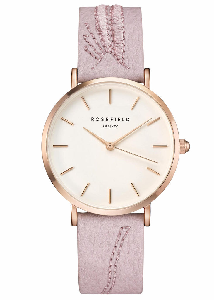 Rosefield-City Bloom Blossom White Rose Gold-Watch-RF-CIBLR-E91-THE UNIT STORE