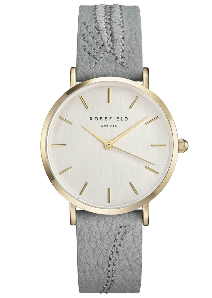 Rosefield-City Bloom Leaf Brush Gold-Watch-RF-CILEG-E90-THE UNIT STORE